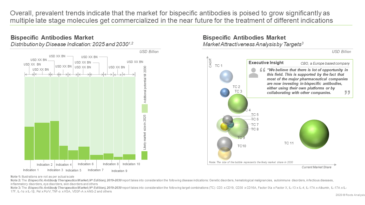 Bispecific Antibody Therapeutics Market (4th Edition), 2019-2030-Market Attractiveness Analysis